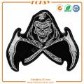 Reaper Skull Scythe Back Patch iron on