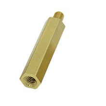 Customized Long hex brass coupling nut