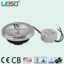 Controlador externo regulable LED AR111 con el mismo tamaño de halógeno