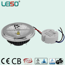 External Driver Dimmable LED AR111 with Same Halogen Size