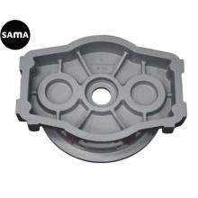 Fundição de areia de gravidade de alumínio para caixa, caso, tampa, base, suporte