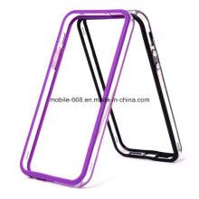 Nouveau cas transparent de silicone de cadre de pare-chocs pour l'iPhone 5 5s 5c