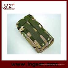 Militärische Airsoft Molle Medizintasche einfach Carring taktische erste Hilfe Tasche Tan Schwarz Grün Digital Woodland