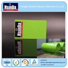 Revêtement de poudre de jet à haute brillance garanti par qualité pour le réservoir de stockage de l'eau