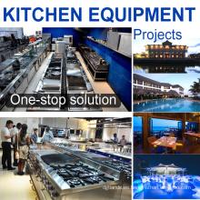 Solución completa Hotel de 5 estrellas Equipo de cocina comercial de acero inoxidable