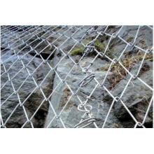 Malla de alambre para la protección de la roca