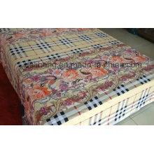 2016 Tecido de algodão com preço barato impresso para folha de cama