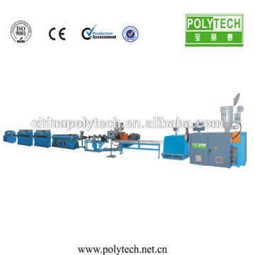 POLYTECH Round Dripper Flexible Inlet Irrigation Pipe Extrusion Making Machine
