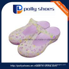 Vente en gros Hollow Breathable Purple Latest Lady Sandal