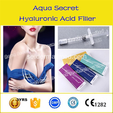 Dermal Filler Hyaluronsyra Injektion