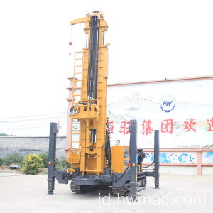 Crawler Pneumatic 500M Deep Water Rig Pengeboran Sumur