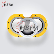 Stationary Concrete Mixer Pump Wear Plate Cutting Ring