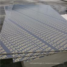 Poplar Core 15mm Film face à la construction Contreplaqué en coque étanche