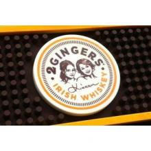 Custom eco friendly soft pvc bar mat , bar mats for glasses