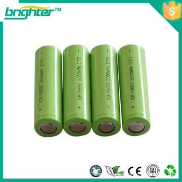 18650 3.7v Batterie für elektrisches Fahrrad von der Porzellanfabrik