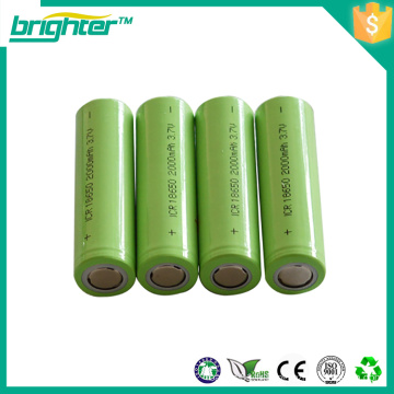 18650 batterie 3.7v pour vélo électrique de l'usine de Chine
