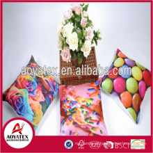 2018 novo estilo Atacado personalizado impressão capas de almofada feitas na china