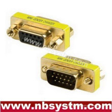 db15 pin male to female gold plated Gender Changer