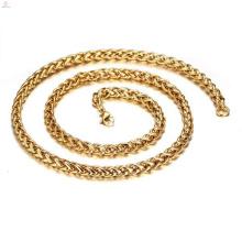 Оптовая 18-каратного золота заполнены цепи ожерелье