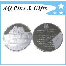 Sterling Silber Münze Witn 3D Logo