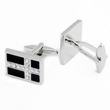 wholesale jewelry fashion cufflink stainless steel cuff link for men