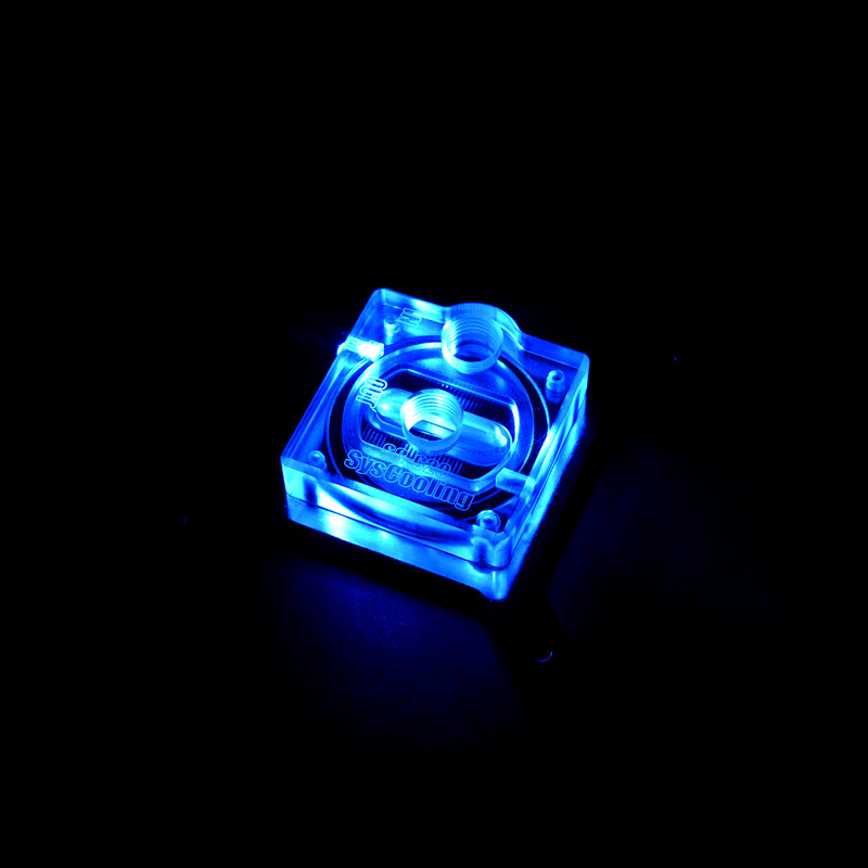 Acryl Cover LED Light Cpu Waterblok