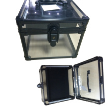 Boîte acrylique vente chaude avec EVA à l'intérieur en gros