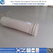 Bolsa compuesta del colector de polvo del bolso de filtro de aire de PPA de PPS para la industria