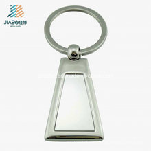 Custom Promotional Gift Zinc Alloy Metal Blank Keychain for Wholesale