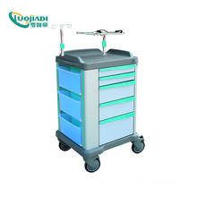 Chariot à médicaments d'urgence Chariot médical ABS