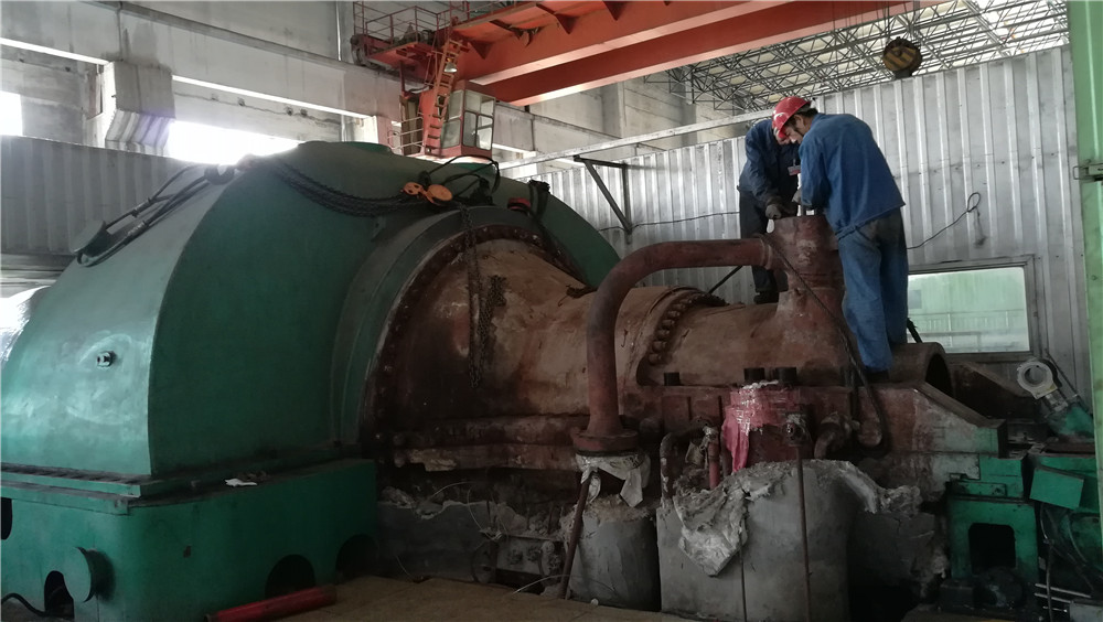50MW Steam Turbine Maintenance