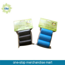 black dog poop bag PROMOTION