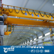 Haute efficacité 80 t Pont grue avec crochet de travail en usine