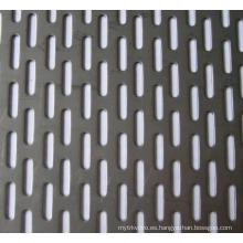 Hoja de Metal Perforado Galvanizado en Electro
