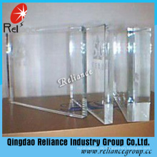 3,2mm -19mm Ultra Clear Float Glas / Kristallglas / Diamond Glas / transparentes Glas / Clear Float Glas / Green House Glas