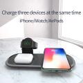 El cargador wilress del teléfono celular Andriod también se adaptó al iphone