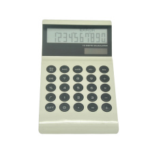 Super Thin Desk Calculator with Round Key
