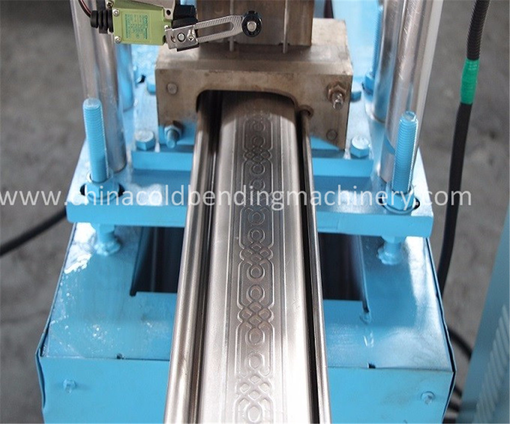 metal shutter door roll forming machinery