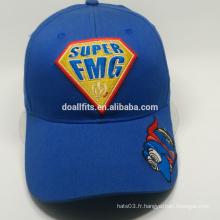 Bonnet de baseball à broder superman en carton