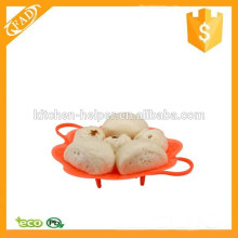 Factory Price Multi-function Silicone Steamer Basket