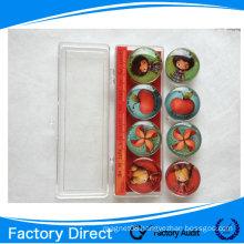Custom glass fridge magnet , souvenir fridge magnet, glass magnet ,crystal glass magnet