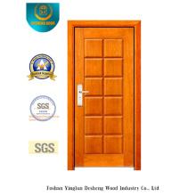 Puerta de acero de seguridad de estilo moderno para interiores y exteriores (B-3010)