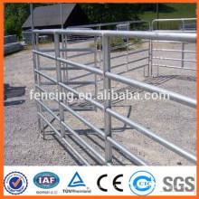Panel de ganado de ganado de granja galvanizado / panel de ganado de metal / panel de ganado de granja temporal de servicio