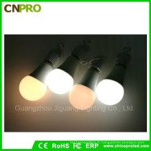 Ampoule LED intelligente en attente de brevet avec éclairage de secours à LED 7W