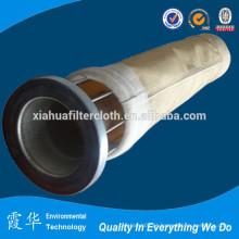 Bolsa de filtro de fibra Metamax para fábrica de cimento