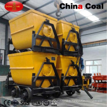 Kfu0.75-6 Bucket Tipping Mine Car 1.88ton