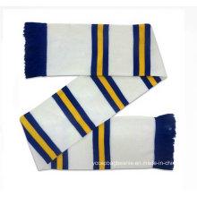 New Style personnalisé Jacquard Weave Strip Scarf