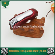 Clipper de novidade com caneta esferográfica