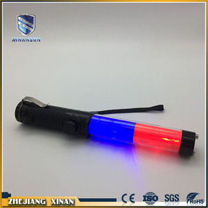 magic flasing glow police traffic guide baton