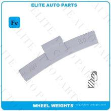 Балансировочный груз Fe для автомобильного колеса